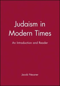 Judaism in Modern Times