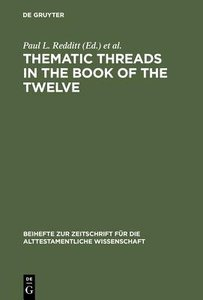 Thematic Threads in the Book of the Twelve