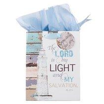 Gift Bag Medium: Be Still, Nautical (Incl Tissue Paper & Gift Tag)