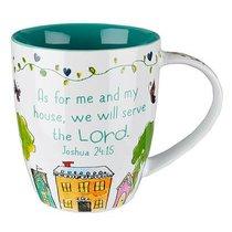 Ceramic Mug: Bless Our Home