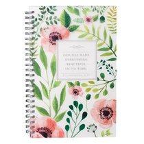 Spiral Notebook: Everything Beautiful (Ecc 3:11)