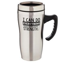 Stainless Steel Travel Mug: I Can Do Everything