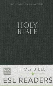 NIRV Holy Bible For Esl Readers Black (Black Letter Edition)