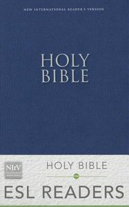 NIRV Holy Bible For Esl Readers Blue