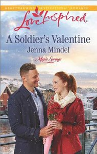 A Soldiers Valentine (Maple Springs) (Love Inspired Series)