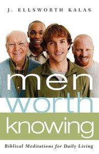 Men Worth Knowing