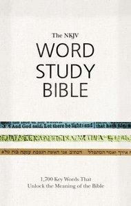 NKJV Word Study Bible Red Letter