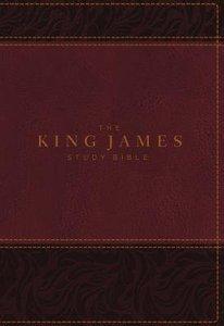 KJV Study Bible Burgundy Full-Color Edition