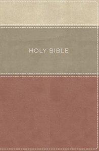 KJV Large Print Apply the Word Study Bible Dusty Rose/Cream