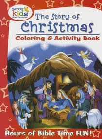 The Story of Christmas Colouring & Activity Book