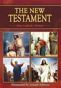St Joseph New Catholic Version New Testament Study Edition Red