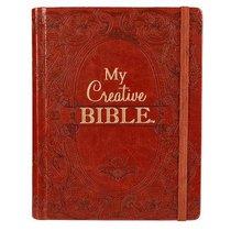 KJV My Creative Bible Brown (Black Letter Edition)