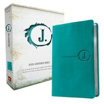 NLT Jesus Centered Bible Turquoise