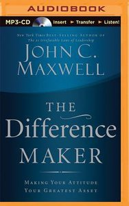 The Difference Maker (Abridged, 3 Cds)