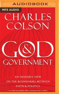 God and Government (Unabridged, Mp3)