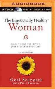 The Emotionally Healthy Woman (Unabridged, Mp3)