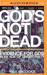 Gods Not Dead (Unabridged, Mp3)