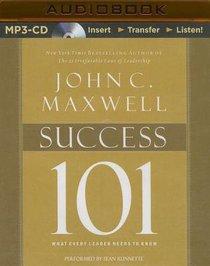 Success 101 (Unabridged, Mp3)