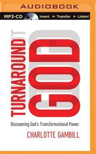 Turnaround God (Unabridged, Mp3)