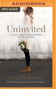Uninvited (Unabridged, Mp3)