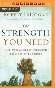 The Strength You Need (Unabridged, Mp3)