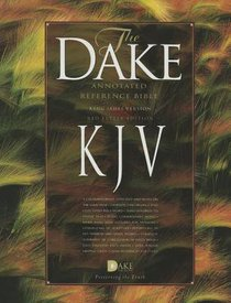 KJV Dakes Annotated Bible Burgundy