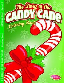 Candy Cane Christmas (Ages 4-7, Reproducible) (Warner Press Colouring/activity Under 5s Series)