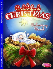 A Colorful Christmas (Ages 8-10, Reproducible) (Warner Press Colouring & Activity Books Series)