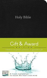 Ceb Gift & Award Black (Red Letter Edition)