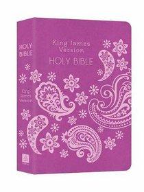 KJV Deluxe Gift & Award Bible Purple