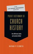 Pocket Dictionary of Church History (Ivp Pocket Reference Series)