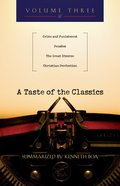 A Taste of the Classics (Volume 3) (#03 in Taste Of The Classics Series)