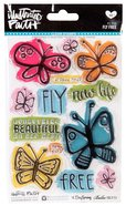 Clear Stamps - Fly Free (Illustrated Faith Series)