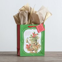 Christmas Gift Bag Medium: Marjolein Bastin - Every Creature Great & Small