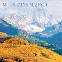 2017 Wall Calendar: Mountains Majesty
