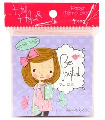 Holly & Hope Memo Block: Be Joyful (140 Sheets)