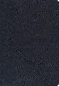 KJV Large Print Ultrathin Reference Bible Black