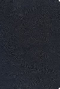 NKJV Giant Print Reference Bible Black Indexed