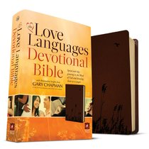 NLT the Love Languages Devotional Bible Chocolate