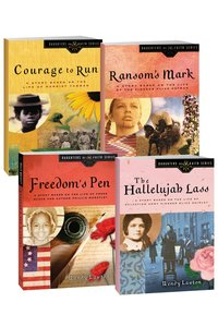 Ransoms Mark/Hallelujah Lass/Courage to Run/Freedoms Pen (Daughters Of The Faith Series)