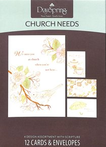 Boxed Cards Church Needs: Church Needs