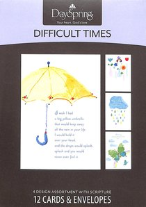 Boxed Cards Difficult Times: Changing Times
