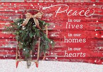 Christmas Boxed Cards: Peace in Our Hearts (John 14:27 Niv)