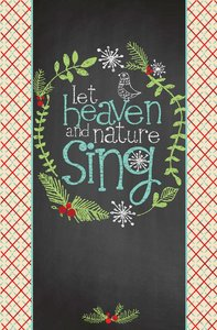 Christmas Premium Boxed Cards: Let Heaven and Nature Sing (Luke 2:10,11 Niv)
