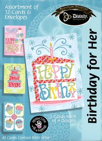 Boxed Cards: Birthday For Her