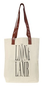 Tote Bag: Lion and Lamb