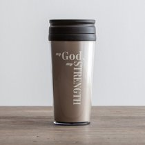 Travel Mug: My God, My Strength