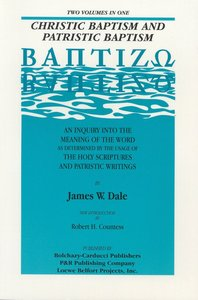 Christic Baptism and Patristic
