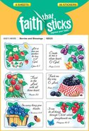 Berries & Blessings (6 Sheets, 36 Stickers) (Stickers Faith That Sticks Series)