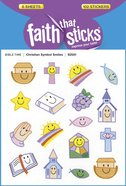 Christian Symbol Smiles (6 Sheets, 102 Stickers) (Stickers Faith That Sticks Series)